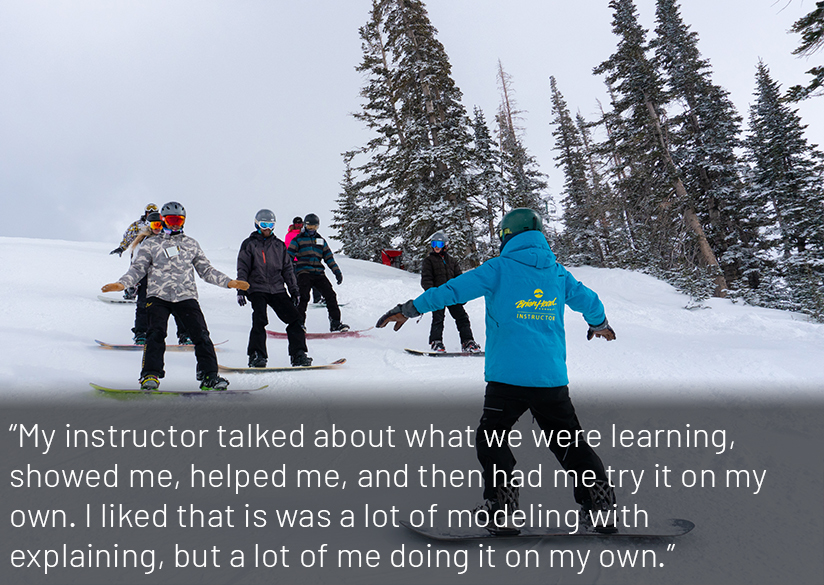 Group Snowboarding Lessons