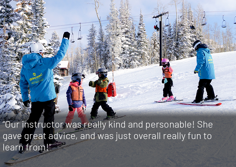 Group of Snowboarders Taking Lessons