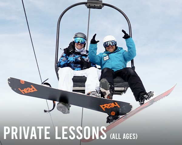 Private Snowboarding & Skiing Lessons